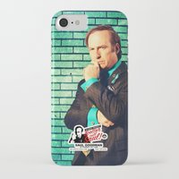 better call saul iPhone & iPod Cases featuring BREAKING BAD - Better Call Saul - for iphone by Vertigo