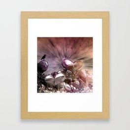Lost Hearts, Fantasy Digital Art Framed Art Print