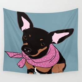 Sweet Chihuahua Wall Tapestry