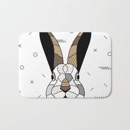 Rabbit Chocolat Bath Mat