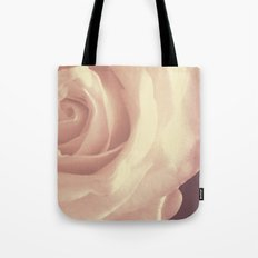 Roses are White Tote Bag