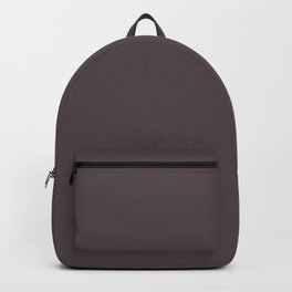 Sunset Sings Quietly ~ Violet-Blue Coordinating Solid Backpack