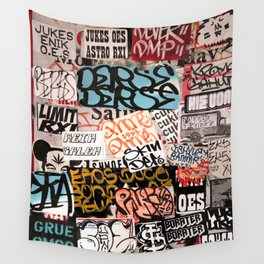 The piles of Culture - Los Angeles #54 Wall Tapestry