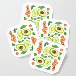 Avocados and Tomatoes Coaster