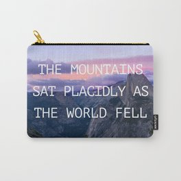 The mountains sat placidly Carry-All Pouch
