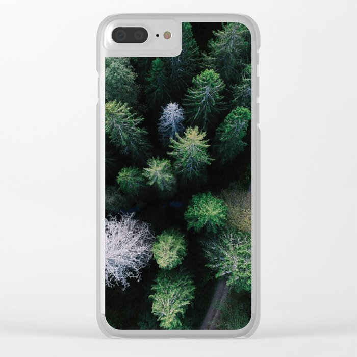 From Afar III Clear iPhone Case