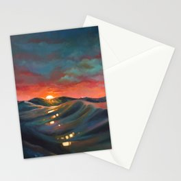 Before The Night Storm Stationery Cards