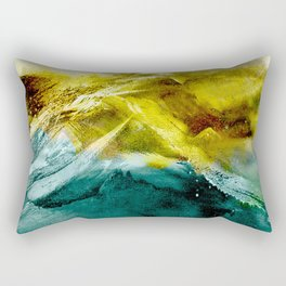 Abstract Mountain Rectangular Pillow