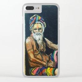 Sadhu Clear iPhone Case
