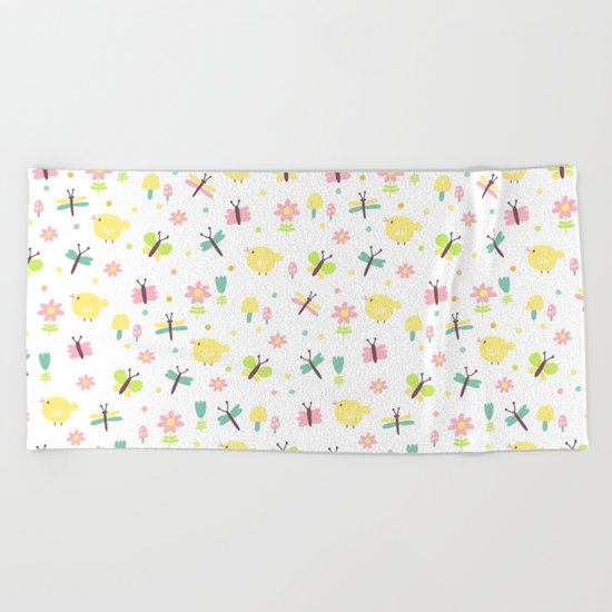 Sweet Fly Beach Towel