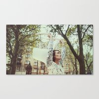 eames Canvas Prints featuring eames by annadim