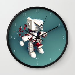 KILL ROBOT Wall Clock