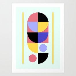 Four Nineteen Twenty Art Print