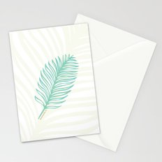 Jacksonville, Florida Palm Leaf Stationery Cards