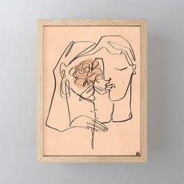 Dream lovers Framed Mini Art Print