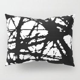 tension, black and white Pillow Sham