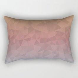 Dull Ombre Rectangular Pillow