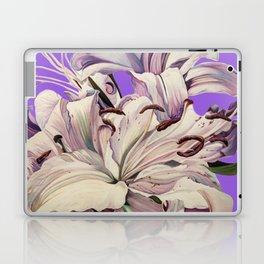 """Purple Lilies"" Laptop & iPad Skin"