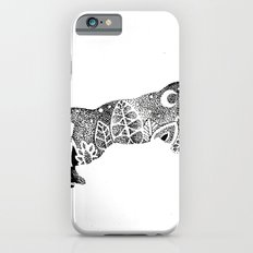 Jungle Panther, Cat, Moon and Stars Slim Case iPhone 6s