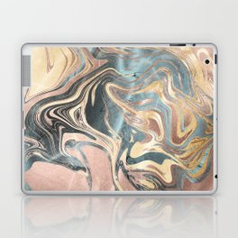Liquid Gold Laptop & iPad Skin