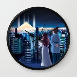 The Ancient Chronicle Cover Wall Clock