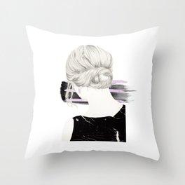 Blondie #2 Throw Pillow