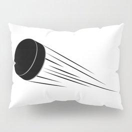 Ice Hockey Puck Pillow Sham