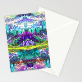 Crystal Mountains One Stationery Cards