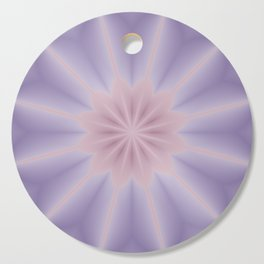Pink and Lilac 3D Flower Three Cutting Board