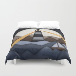 Show Me The Way To Go Home. Duvet Cover