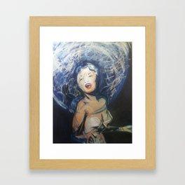 Torch Framed Art Print