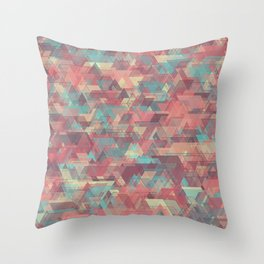 Equilateral Confusion Throw Pillow