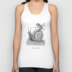 'Full Speed Ahead!' Unisex Tank Top