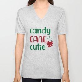 Candy Cane Cutie shirt tshirt Unisex V-Neck