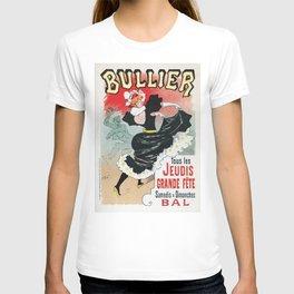 Bullier French dance hall days T-shirt