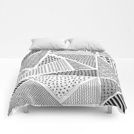 Triangle Zentagle Pattern Comforters