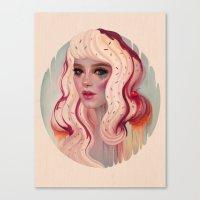 la Canvas Prints featuring à La Mode by Megan Lara
