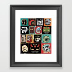 Headhunter outlanders  Framed Art Print
