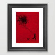 the pollock's way Framed Art Print