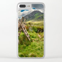 Stile To Tryfan Mountain Clear iPhone Case