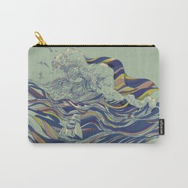 OCEAN AND LOVE Carry-All Pouch