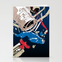 gravity Stationery Cards featuring gravity by wonman kim
