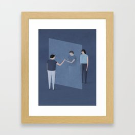 """""""What Happiness in the Future Will Mean"""" by Naftali Beder for Nautilus Framed Art Print"""