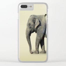 Inner Space Elephant Clear iPhone Case