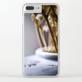 cold light of day Clear iPhone Case