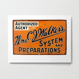 System and Preparations Metal Print