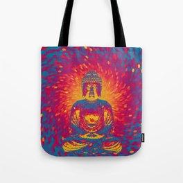 Crystal Buddha Tote Bag