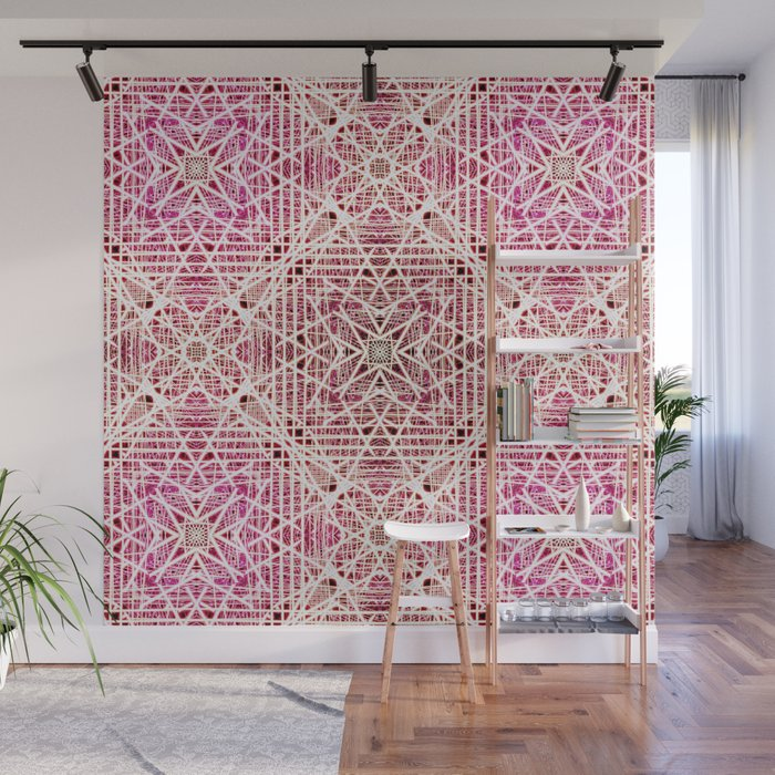 Abstract pattern. Wall Mural