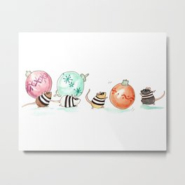 Ornament Heist Metal Print