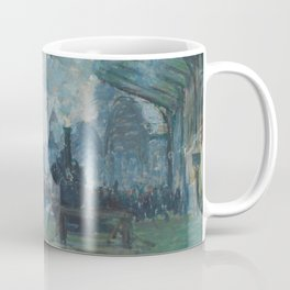 Claude Monet - Arrival of the Normandy Train Coffee Mug